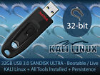 32GB KALI Linux USB Bootable Live OS with All Tools Installed + Persistence