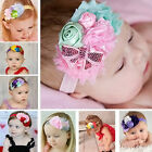Kids-Baby-Headband-Toddler-Lace-Bow-Flower-Hair-Band-Accessories-Headwear-New