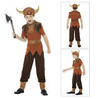 Smiffys Kids Viking Fancy Dress Costume Boys New World Book Day Childs Outfit