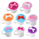 Silicone Cute Anti-dust Sealed Glass Cup Cover Coffee Mug Suction Seal Lid Cap