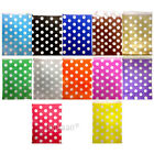 "50 Color & White POLKA DOT Paper Sweet Bags Wedding 5"" X 7"" Pick 'n' Mix Bag"