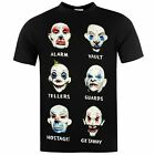 The Joker Gang T-Shirt Batman DC Comics Mens Black/Multi Top Tee T Shirt