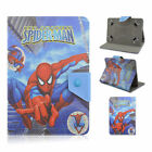 Super Hero Series Novelty Flip Leather Case Cover For Universal 7 Inch Tablet