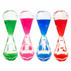 Colorful Children's Diamond Shaped Liquid Motion Hourglass Timer Paperweight Toy