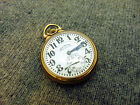 H3B Rare Illinois BUNN SPECIAL 16s 23j 163 Antique Railroad Pocket Watch *NICE*