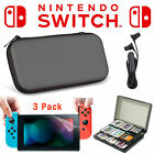 EEEKit for Nintendo Switch Travel Carrying Bag+Screen Protector+Game Card Case