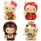 2014 JAPAN HELLO KITTY RESIN COIN BANK GOOD LUCKLY MINI COIN BANK - TANUKI