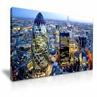 London Canvas Wall Art Home Office Deco