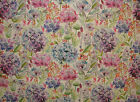 Voyage Decoration Hydrangea Wisteria Floral Curtain Upholstery Linen Fabric