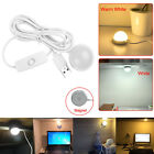 3W Magnetic USB Round LED Bulb Reading Light Night Lamp DC5V for Laptop PC Home