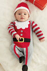 Baby Newborn Toddler Boy Girl Romper Onesies Xmas Clothing Costume Suit Outfit