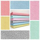 LOVE SPOTTY - MODERN DOT IRREGULAR SPOT  cotton fabric DRESSMAKING QUILTING