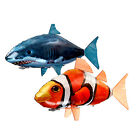 New Air Swimmer Inflatable Balloon Remote Control RC Flying Nemo Shark Blimp