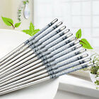 5 Pairs Stainless Steel Chopsticks Gift Set Clean And Sanitary