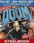 Doom (Blu-ray/DVD, 2013, 2-Disc Set, Includes Digital Copy; UltraViolet)