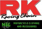 RK GB525RO Professional Racing Motorcycle Motorbike Gold O-Ring Chain