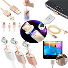 1M 2.4A Micro USB Magnetic Adapter Charging Cable Charger for Android phone use
