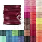 1 Roll 170/80/40M Korea Waxed Cotton Cord For Necklace Thread 1/1.5/2/3mm