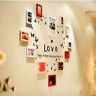 Family Happy Memories Forever Wall Quote Photo Frame Decals Stickers Decor Arts