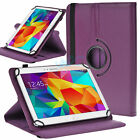 Universal 360 Rotating Case Cover for 10in Tablet Samsung Galaxy Tab S LG G Pad