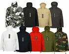 Military Style Smock Winter Hooded Windbreaker Anorak Parka Jacket Coat