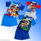 Boys Official Genuine Paw Patrol Short Pyjamas Age 18 Months 2 3 4 5 Years