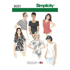 Simplicity 8061 | Misses' Tops Sewing Pattern
