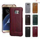 Pierre Cardin Genuine Leather Cover Case For Samsung Note 4/5/S6Edge/S7/S7 Edge