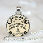Halloween Costume Ouija Board Necklace Pendant Chain Glass Cabochon Charm