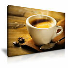 COFFEE ESPRESSO Canvas Framed Print Cafe Deco - More Size