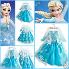 Easter Elsa Anna Cosplay School Party Costume Girls Birthday Dresses SIZE 3Y-8Y