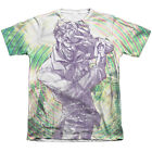 Batman MAD MAD SWIRL 1-Sided Sublimated Big Print Poly Cotton T-Shirt