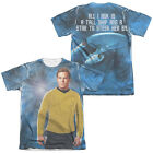 Star Trek Kirk SHIP FOR MY CAPTAIN 2-Sided All Over Print Poly Cotton T-Shirt on eBay