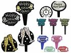 Happy New Year Assortment Cupcake Picks Cake Toppers Appetizer Decorations