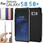 EEEKit Luxury Mirror Clear View Flip Smart Wake Up Cover Case for Galaxy S8 Plus