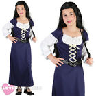 GIRLS MAID MARION COSTUME ROBIN HOOD MEDIEVAL FANCY DRESS SCHOOL CURRICULUM