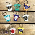 Cycle Cycling Cyclist Race Racing Bike Winning Jersey Wooden Keyring Key Chain