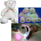 GLOWER SUPER SOFT CUDDLY GLOW TEDDY BEAR LIGHT UP COLOUR CHANGING NIGHT LIGHT