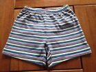 NEW***Quality Baby Toddler BOYS Cotton Short***Blue Striped***18-24 month