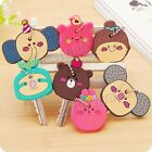 Cartoon Animal Soft Silicone Key Cover Cap Keyring Topper Protector Skin BJ