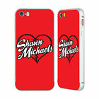 OFFICIAL WWE SHAWN MICHAELS SILVER BUMPER SLIDER CASE FOR APPLE iPHONE PHONES