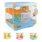Brand New Alice Color Small Hamster Cage with Wheel Bowl Bottle Tunnel House