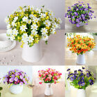 Banquet Artificial Daisy Silk Flower Plastic Floral Plant Home Wedding Decor