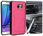 KroO TPU Card Case + Magnetic Car Mount Samsung Galaxy Note 5