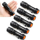 6pc 2000LM CREE Q5 Zoomable LED Flashlight Torch Light Super Bright Zoom Light