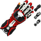 Knox Handroid MkIII Leather Motorcycle Gloves Flexible CE Certified Sport Racing
