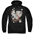 Betty Boop CLASSIC KISS Pudgy Vintage Style Licensed Sweatshirt Hoodie $41.71 USD on eBay