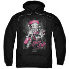 Betty Boop BIKER BABE Angel Wings Licensed Sweatshirt Hoodie $68.05 USD on eBay