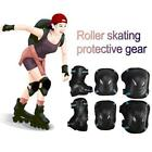 Elbow Knee Pads Wrist Guard Protective Gear Set for Skateboard Skating Cycling