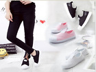 2017 New Women & Men Fashion Breathable  Casual Sneakers shoes Lazy shoes